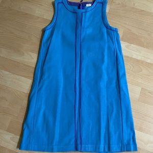 J Crew Crewcuts Girls Blue Sleeveless Dress 10